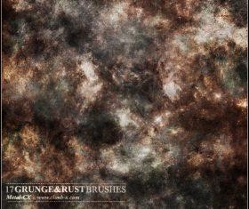 Grunge Rust Photoshop Brushes