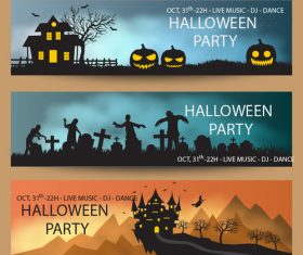 Halloween creative poster vector