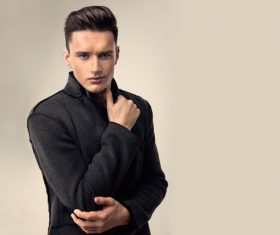 Handsome Fashion Young Man Stock Photo 08 Free Download