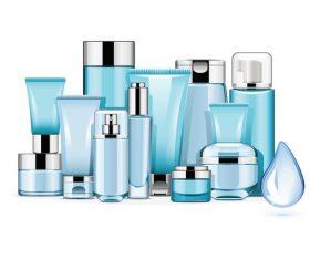Hydrating Cosmetics vectors material