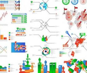 Infographic picture vector