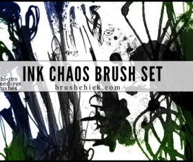 Ink and Chaos photoshop brushes