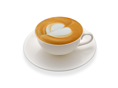 Latte Art   Perfect Coffee Stock Photo 01