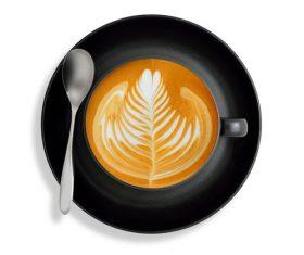 Latte Art – Perfect Coffee Stock Photo 05