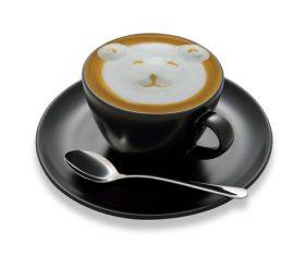 Latte Art – Perfect Coffee Stock Photo 08