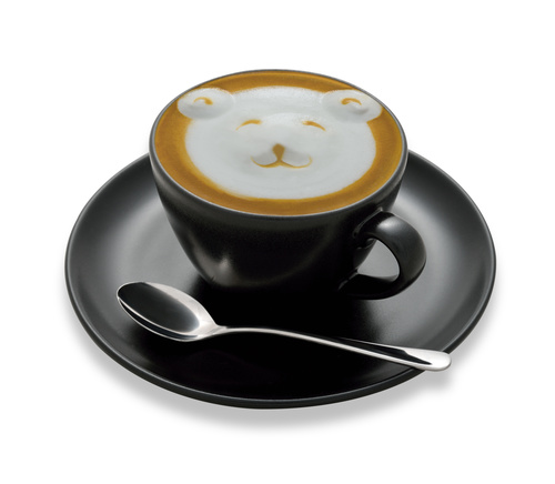 Latte Art   Perfect Coffee Stock Photo 08