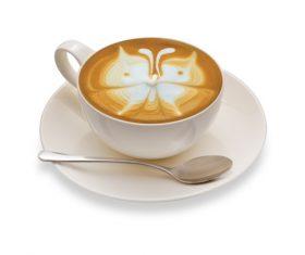 Latte Art – Perfect Coffee Stock Photo 09