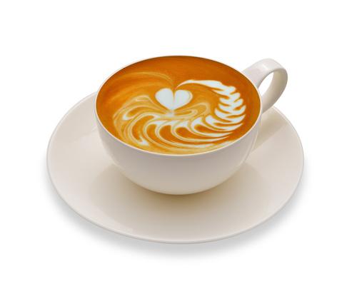 Latte Art   Perfect Coffee Stock Photo 11