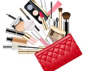 Makeup Bag vectors material