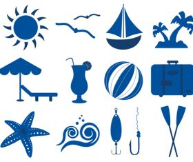 Maritim icons set 02