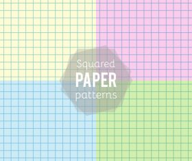 Notepad paper pattern design vector 02