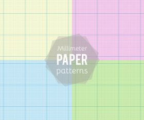 Notepad paper pattern design vector 08