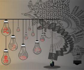 Office background wallpaper vector