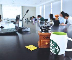 Office meeting Stock Photo