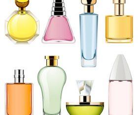 Perfume design vectors material 01