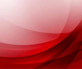 Red vector abstract wave background 01