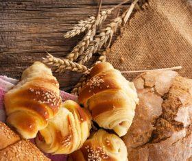 Sesame bread Stock Photo 01
