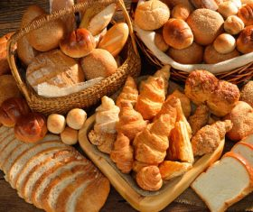 Stock Photo Different kinds of bread 01