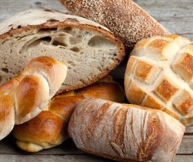 Stock Photo Different kinds of bread 02