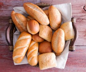 Stock Photo Different kinds of bread 03