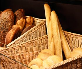 Stock Photo Different kinds of bread 04