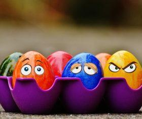 Stock Photo Fun Easter Egg 01