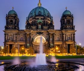 Stock Photo Germany Berlin Cathedral
