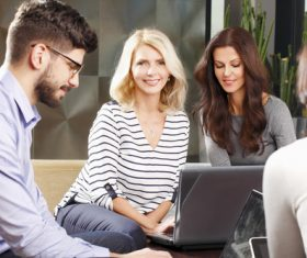 Stock Photo Office business teamwork 01