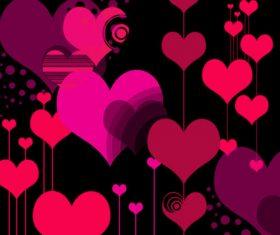 Style Hearts Photoshop Brushes
