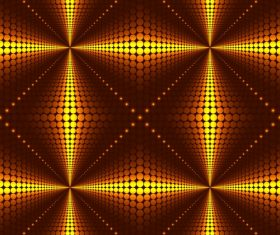 Three-dimensional abstract background vector