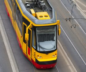 Urban tram Stock Photo 02