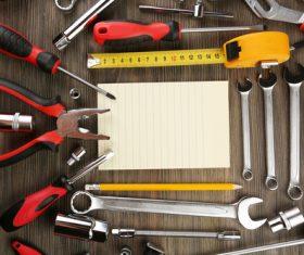 Various repair tools Stock Photo 01