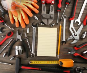 Various repair tools Stock Photo 02