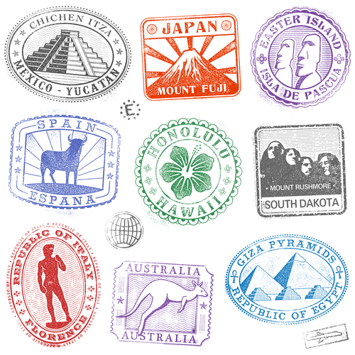 Vintage stamp template design vector free download vintage stamp template design vector maxwellsz