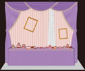 Wedding renderings vector 02