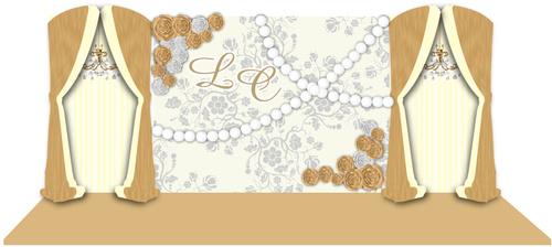 Wedding renderings vector 04