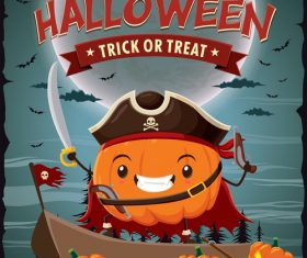 halloween poster template design vectors 07