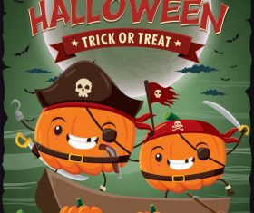 halloween poster template design vectors 08