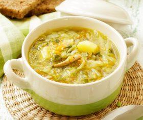 pumpkin soup Stock Photo 03