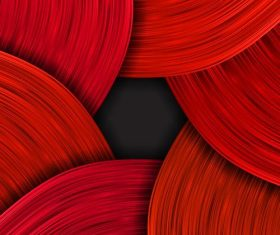 serpentine wavy background red vector