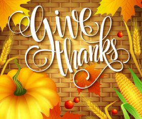 thanksgiving day background design vector 01