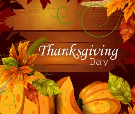 thanksgiving day background design vector 02