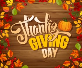 thanksgiving day background design vector 03