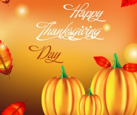 thanksgiving day background design vector 04