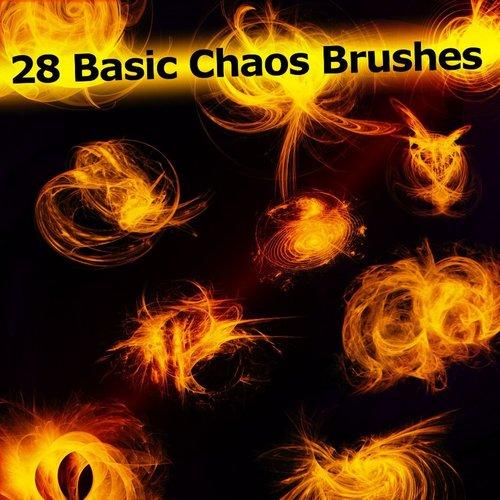28 Kind Basic Chaos Photoshop Brushes