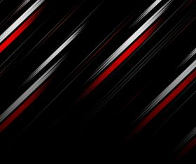 Abstract red light with black background vector