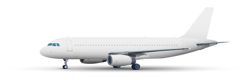 Aircraft ligne template vectors 01