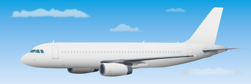 Aircraft ligne template vectors 04