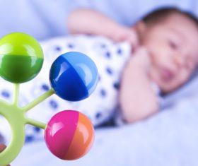 Babys toy rattle Stock Photo 02