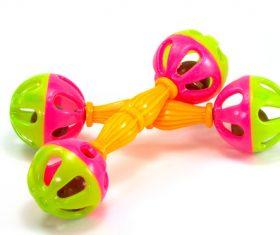 Babys toy rattle Stock Photo 03